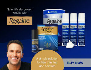 Regaine For Men Extra Strength 5% Hair Regrowth Treatment - Foam