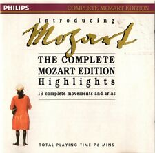 Introducing Mozart - The Complete Mozart Edition Highlights (1990) CD SPEEDYPOST
