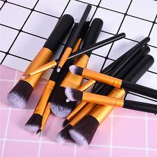12Pcs Professional Make Up Brush Set Foundation Brushes Kabuki Makeup Brushes