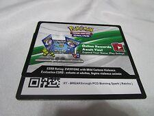 1 Pokemon Online TCG BURNING SPARK XY Breakthrough Theme Deck CODE CARD. e-mail