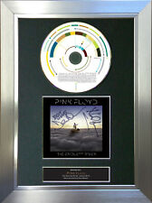More details for pink floyd the endless river signed autograph cd & cover mounted print a4 62