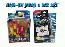 Toysmith Kids Liqui-Fly Hydro 3 Box Set Water Powered Space Rocket