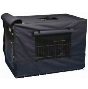 Precision Indoor Outdoor Dog Crate Cover Navy Nylon Canvas 30 inch size 3000 NEW