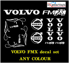 Volvo FMX decal MEGA PACK. truck graphics stickers VARIOUS COLOURS