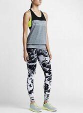 Women's Nike Legendary Waterfall Printed Training Tights Pants XL 694371 010