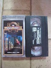 WWF Wrestlemania IX VHS Tape 9 1993 Bret Hart Yokozuna Hulk Hogan Undertaker