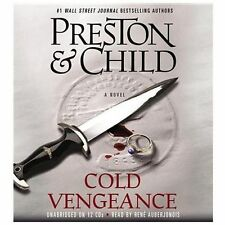 COLD VENGEANCE unabridged audio book CD by PRESTON & CHILD (12 CDs / 13 Hours)