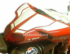 DUCATI  1098 1198 - Tabelle adesive a 2 posteriori - racing decals