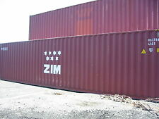 40 Hc steel cargo shipping storage container Denver Co Colorado containers