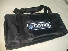 Custom padded travel bag soft case for ACCESS Virus TI TI2 Desktop synthesizer