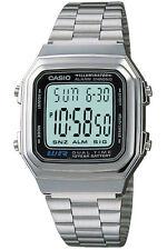 New CASIO A178WA-1A Mens Classic Digital Vintage Alarm Watch