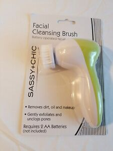 Battery Operated  facial cleansing brush