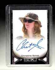 Stargate Universe Christina Schild auto card
