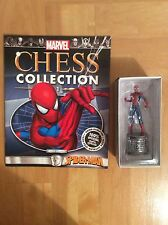 Marvel Comics Official Chess Collection Number 1 Spider-man Figure White Knight