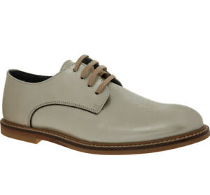 BONPOINT Champagne Leather Derby Shoes Eu34