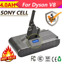 4000mAh Sony Cell For Dyson V8 21.6V Cordless Vacuum Cleaner Li-ion Battery GM