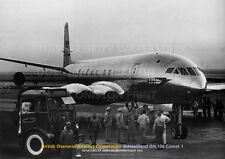 BOAC DEHAVILLAND COMET 1 AT CAIRO 1952 A3 POSTER PRINT PICTURE PHOTO IMAGE x