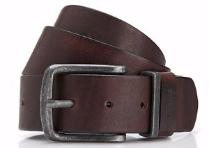 Hugo Boss Orange JEPPO Italian Leather Belt Brown Handmade in Romania 32,34,36
