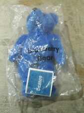 Avon Blueberry bear Beanos Brand new with tag rare and discontinued