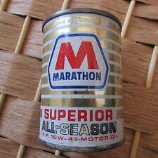 Marathon Superior All-Season 10- W40 Vintage Motor Oil Can Bank