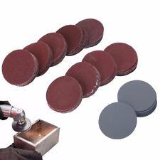 "100pcs 2""Inch 50mm Sander Disc 80-3000 Grit Sanding Polishing Pad Sandpaper Tool"
