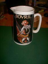 More details for vintage amberglade derbyshire pottery bovril jug/pitcher