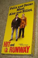 HIT AND RUNWAY VHS NEW AND SEALED, RARE, FELIX AND OSCAR MEET ALEX AND ELLIOT