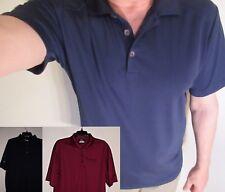 Nike Performance Polo Shirt Short Sleeve M XL Black Blue Red
