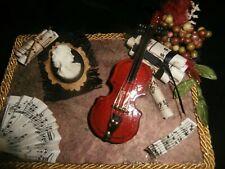 Jewelry/Trinket Box Musical Theme Handmade