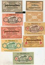 Notgeld:Osterholz-Scharmbeck.9  Stück