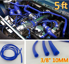 "3/8"" 10Mm Id Blue Vacuum Silicone Turbo Air Hose Line Pipe Tube 5 Ft Foot Feet"
