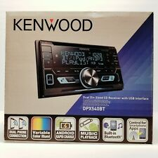 Kenwood DPX540BT Double-Din In-Dash AM/FM Media Receiver 2-Phone Bluetooth USB