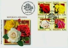 Moldova stamps! FDC (First Day Cover), FLOWERS, ROSES, MNH, 2012