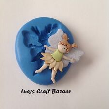 Silicone Mould Fairy 1 Cupcake Topper Decorating Sugarcraft Flowerpaste Sculpey