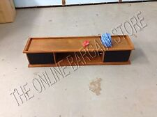Pottery Barn Bedford Smart Wall Mount MP3 iPod Speaker Shelf Mahogany 4'