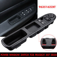 Front Power Electric Window Mirror Switch Driver Side For Peugeot 307 2000-2005