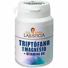 Ana María Lajusticia 60 Comprimidos de 51g Triptófano con Magnesio y Vitamina B6