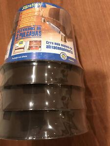 Bed Riser Stepstick   CB652 3 Inch Under Bed Storage Bed Risers