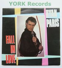 "RYAN PARIS - Fall In Love - Excellent Condition 7"" Single Carrere CAR 300"
