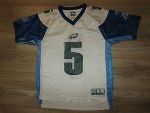 Donovan McNabb #5 Philadelphia Eagles Super Bowl NFL Reebok Jersey Youth L 14-16