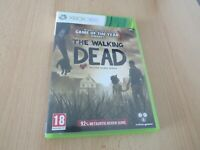 THE WALKING DEAD GOTY ( game of the year ) XBOX 360 COMPLETE