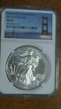 2011 S NGC MS69 American Silver Eagle Fast Shipping
