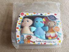 In the Night Garden Cuddly Soft Toys Iggle Piggle, Upsy Daisy, Makka Pakka Set