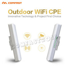 COMFAST 2pcs 300Mbps Outdoor Wireless Access Point WiFi Bridge AP Router CPE POE