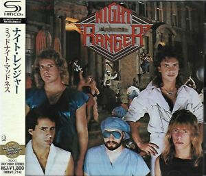 NIGHT RANGER MIDNIGHT MADNESS 2011 JAPAN RMST SHM CD - NEW/SEALED GIFT QUALITY