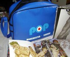 POP Manchester Blue Shoulder Carry Bag..with Zip.