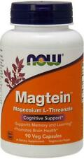 NOW Foods Magtein Capsules - Pack of 90