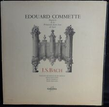 Edouard Commette - BACH toccata and fugue in d minor Columbia FCX 497 FRANCE