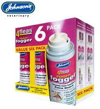More details for 6 pack johnsons 4fleas house flea fogger killer bomb spray room treatment