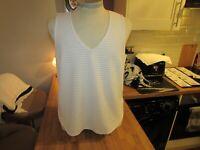 Next Ladies Stunning V Neck Blouse Top  - Size UK 14